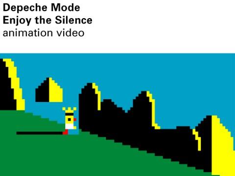 Enjoy The Silence - animation video