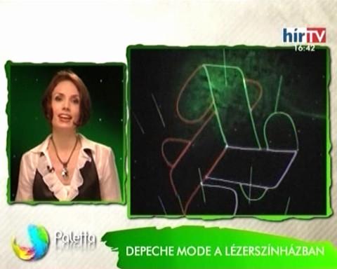LézerSzínház és a FREESTATE a HírTV-ben