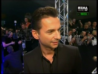 Dave Gahan - MTV EMA07 PreShow